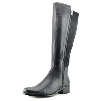 AquaDiva Karen Women  Round Toe Leather  Knee High Boot