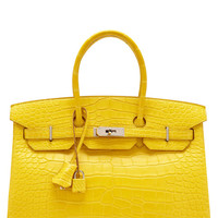 35Cm Matte Mimosa Alligator Birkin by Heritage Auctions Special Collections for Preorder on Moda Operandi