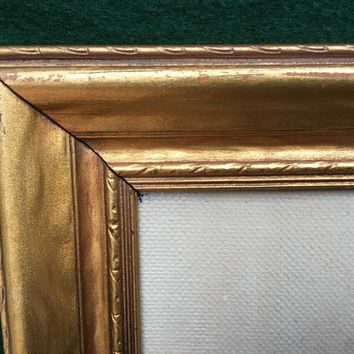"Antique Circa 1920 Oil Painting Gold Gilt Frame Still Life 12"" x 15"""