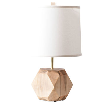 Gem Table Lamp, Maple, Table Lamps