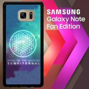 Bring Me The Horizon Logo Sempiternal Galaxy Z3974 Samsung Galaxy Note FE Fan Edition Case
