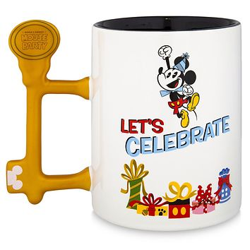 Disney Parks Mickey Mouse and Friends World's Biggest Mouse Party Mug New