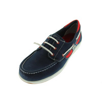 Ryka Womens Chatham Leather Slip On Boat Shoes