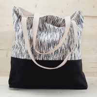 Nell & Mary Cascade Two-Toned Tote