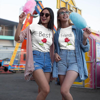 Best Friends shirts, Best Friends flower shirts, Besties shirts, Best Friends rose shirts, Galentines shirts, Galentines day shirts