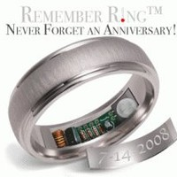 Remember Rings - Never Forget an Anniversary! (Heats up on anniv. date!)