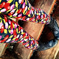 Juicy cherry Leggings pants lycra cherries