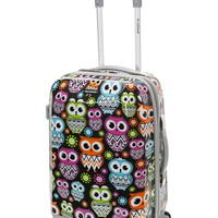 "F151-OWL 20"" Polycarbonate Carry On  Luggage Set"