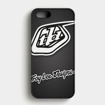 Troy Lee Designs Sportwear Tld Carbon Printed iPhone SE Case
