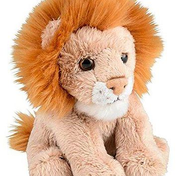 "Wildlife Tree 5"" Stuffed Lion Zoo Animal Plush Floppy Animal Heirloom Small World Collection"