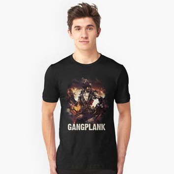"""League of Legends GANGPLANK"" Unisex T-Shirt by Naumovski 