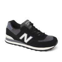 New Balance 574 Pennant Shoes - Mens Shoes - Black