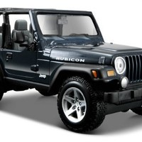 Maisto Special Edition 1:27 Jeep Wrangler Rubicon (Colors May Vary)