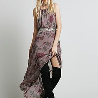 Free People Womens Float on a Sunbeam Maxi