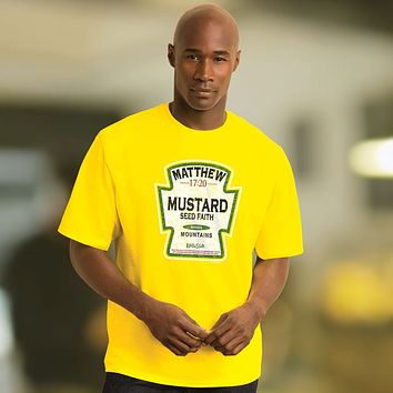 Kerusso Mustard Seed Faith Moves Mountains Unisex Bright T Shirt