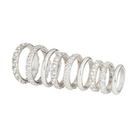 H&M - 9-pack Rings - Silver - Ladies