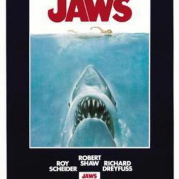 Jaws Movie Poster Standup 4inx6in