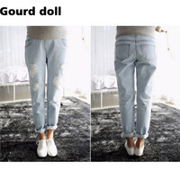Plus Sizes Maternity Jeans Pants for Pregnant Women Clothe for Summer 2016 Overalls Maternity Panties Pregnancy clothing