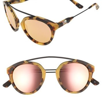 Olivia Palermo x Westward Leaning 'Flower' Mirrored Sunglasses | Nordstrom