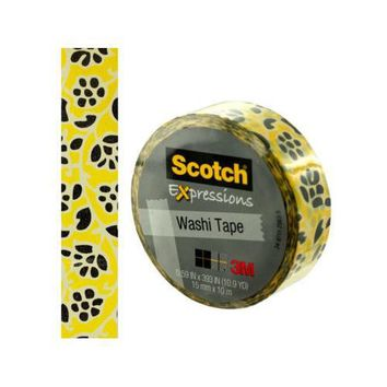 Scotch Expressions Flowers Washi Tape ( Case of 24 )