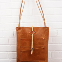Limited Edition Utility Leather Tote Bag as seen in Southern Living