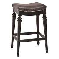 Vetrina Backless Non-Swivel Bar Stool