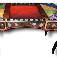 sublime writing table by Wendy Grossman: Wood Desk STUDIO SALE | Artful Home