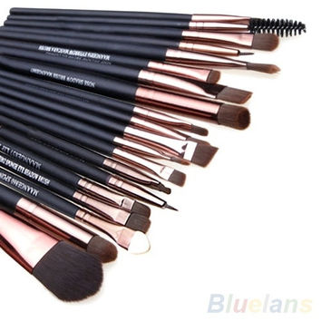 20Pcs Cosmetic Sets Soft Powder Foundation Eyeshadow Eyeliner Lip Makeup Brushes = 1645841348