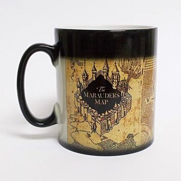 Harry Potter The Marauder's Map Magic Heat Reveal Mug