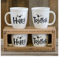 Natural Life Mug Set - Happy Together