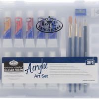 clearview small acrylic painting art set