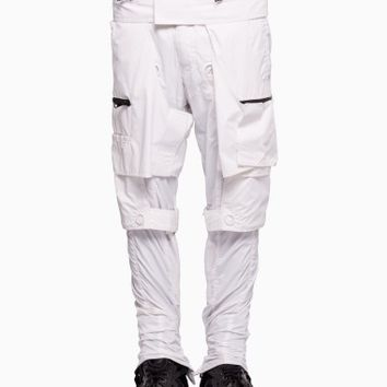 Body bag bondage trousers from S/S2016 KTZ Kokon To Zai collection in white