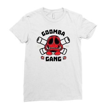 goomba gang Ladies Fitted T-Shirt