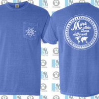 Go.Love.Serve. World Map + Compass T-Shirt - Comfort Colors from Fund The Nations - Mission Trip Funding - Sierra Leone Africa