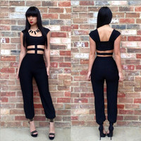 Women's Sexy Jumpsuit Cocktail Party Clubwear = 4427408132