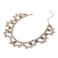 Tribal-Inspired Chain Necklace
