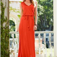 Maxi With Tassel Detail