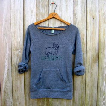 Dig Print Pocket Sweater