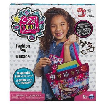 Sew Cool Fashion Bag Craft Kit Metallics