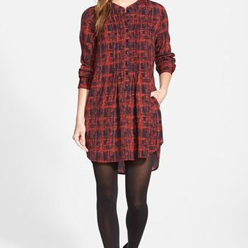 Women's Sandra Shirttail Hem Tunic Dress,