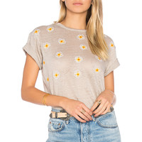 Banner Day California Poppies Tee in Ash