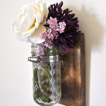 Hanging Herb, Succulent, Flower Planter / Vase Jar / Home Decor