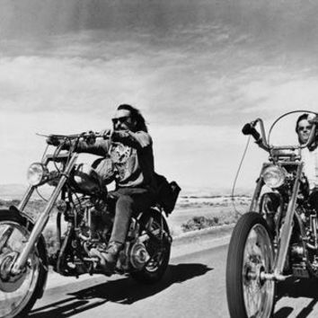 Easy Rider Metal Print 8in x 12in