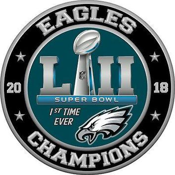 Eagles SB Winners Iron On/Sew on Patch!!! World Champs Philly Eagles!!!! Super Bowl!!! Plus Vinyl Sticker