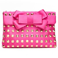 Franchi Handbag, Bella Satin Stud Evening Clutch - Clutches & Evening Bags - Handbags & Accessories - Macy's