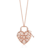 Tiffany & Co. - Tiffany Filigree Heart:Pendant with Key