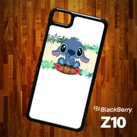 B1312 Lilo and Stitch Aloha Blackberry Z10 Case