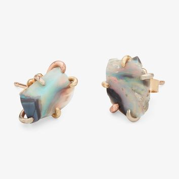 Variance Objects Large Opal Stud Earrings – ABC Carpet & Home