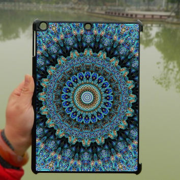 Blue Mandara Pattern iPad Case,iPad mini Case,iPad Air Case,iPad 3 Case,iPad 4 Case,ipad case,ipad cover,ipad mini cover ipad air,iPad 2/3/4-199