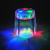 Hot  Sale Fashion  LED Flashing glass  Bar Drink for party light cup wedding flashing glass
